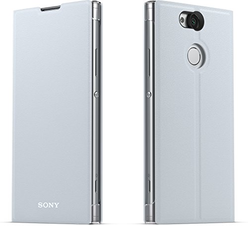 Sony Genuine Official Xperia XA2 Style Cover Stand SCSH10 Case - Silver