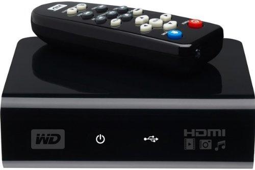 Western Digital WD TV HD Negro reproductor multimedia y grabador de sonido - Reproductor/sintonizador (FAT32,HFS+,NTFS, BMP,GIF,PNG, VOB, ASS,SMI,SRT,SSA,SUB, AAC,FLAC,MKA,MP3,OGG,WMA, HDMI, Composite A/V, USB 2.0) WDAVP00BE