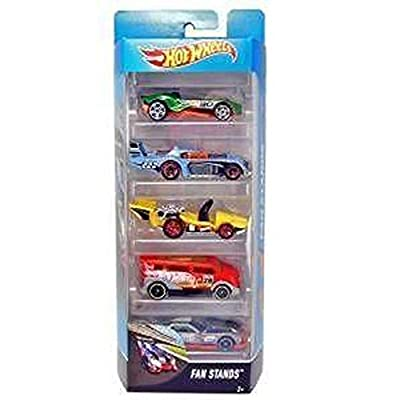 Hot Wheels Fan Stands 5 Pack: Toys & Games