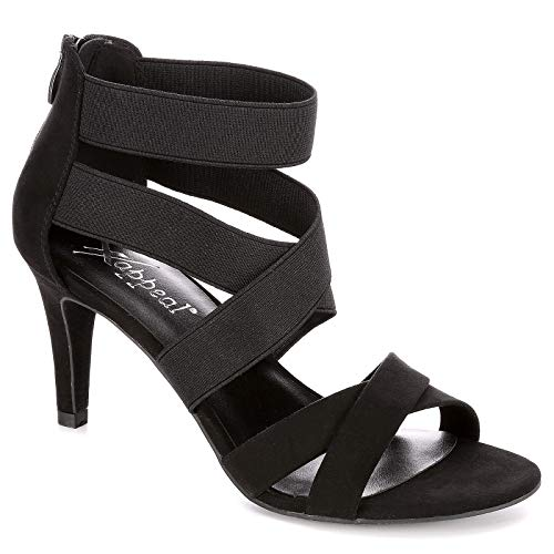 XAPPEAL Womens Elke High Heel Sandal Shoes, Black 8.5, used for sale  Delivered anywhere in USA
