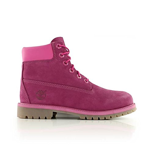 Timberland - 6 IN Premium WP Boot Pink - CA14YQ - Color: Pink - Size: 4.0 by Timberland
