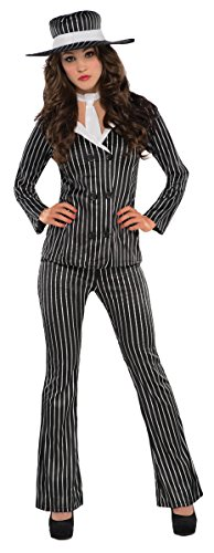Womens Mob Wife Costume. Medium (6-8)