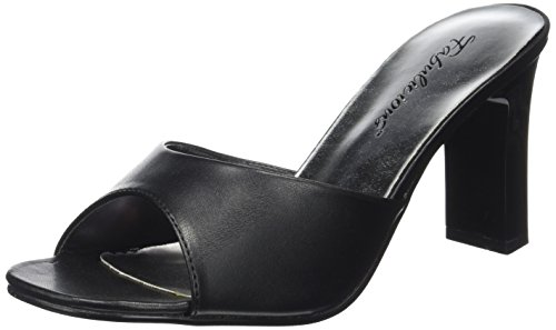 Touch Of Romance Halloween Costumes (Pleaser Women's Romance-301-2 Sandal,Black PU,14 M US)