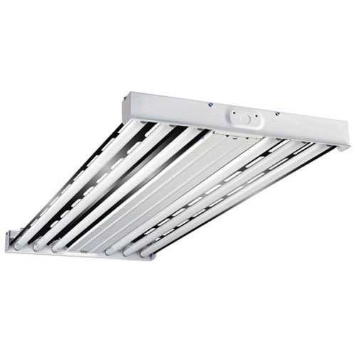 Metalux HBL654T5HORT1 F-Bay Series 6-Lamp Fluorescent Fixture, 2' x 4' by Cooper Lighting