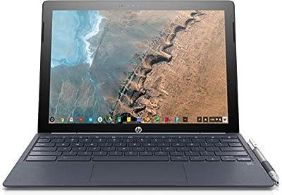 "HP 2-in-1 12.3"" Touch-Screen Chromebook Intel Core M - 4GB Memory - 32GB eMMC Flash Memory (X2 12-F014D) White - New"
