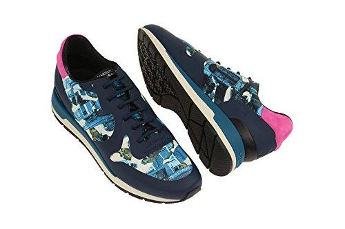 Cordones Mujer Zapatos 000l1c4002 Azul Geoxd64n1b Con 7vz1wRq