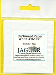 """12 Parchment Paper 3""""x2.75"""" to Write on: Names, Problems"""