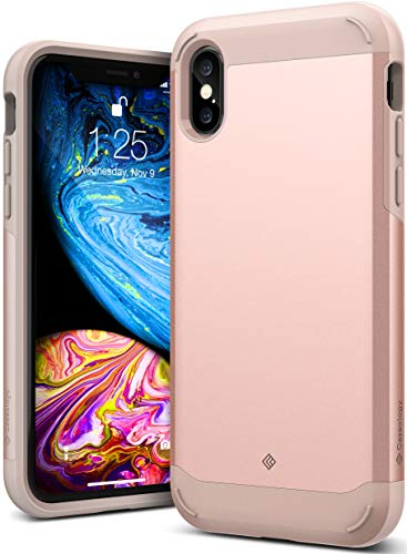 Caseology [Legion Series] iPhone Xs/iPhone X Case - [Reinforced Protection] - Rose Gold