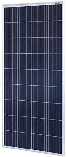 zhangchao Solar Panel, 150W Polykristalline Solar-Panel 18V Photovoltaik-Panel 12V Home System Haushalt Vorstand