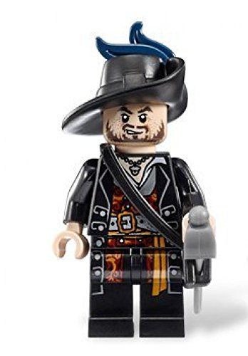 Lego Pirates of the Caribbean - Minifigure Hector Barbossa x1 Loose -