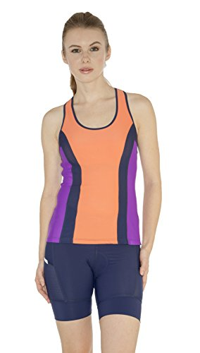 MooMotion Womens Fulton Racerback Tri Top Large - Female Nectar