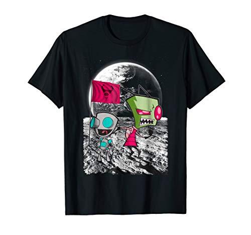 Nickelodeon Invader Zim Man on the Moon - Invader Shirts Zim Tee