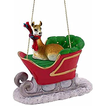 Amazon.com: Llama Red Gift Box Christmas Ornament: Home & Kitchen