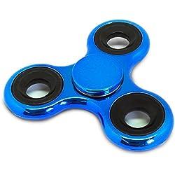 Spinners Chromed Finger Toy, black