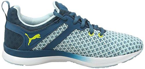 PUMA Pulse XT Geo Wns - Zapatillas de deporte para mujer Bleu (Blue Coral/Sulphur Spring)