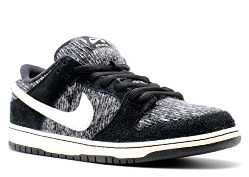 Nike Mens Dunk Low Warmth Black/Ivory-Black-Hyper Grape Fabric Size