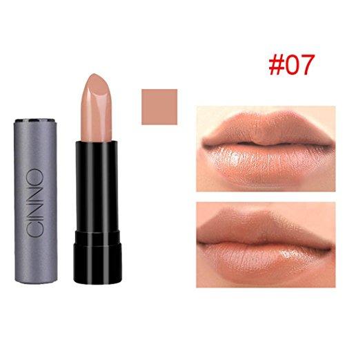 Clearance!Moisturizer Lipstick,ZYooh Fashion Velvet Long Lasting Durable Color Pencil Lipstick Beauty Lip Gloss (G)
