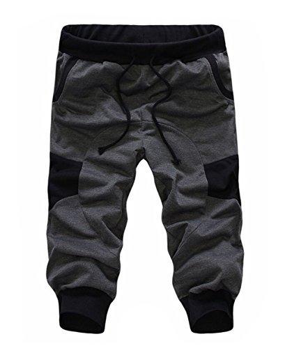 soenvy-mens-casual-harem-training-jogger-sport-short-baggy-pants-xxx-large-dark-gray