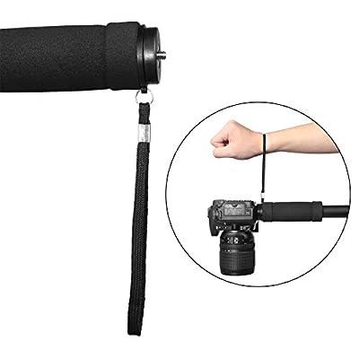 WAAO Professional Camera Aluminium Monopod, 67-Inch Lightweight Walking Trekking Sticks Flip Lock Travel Portable Monopod for DSLR Camera Camcorder Video Nikon Canon Sony … by WAAO
