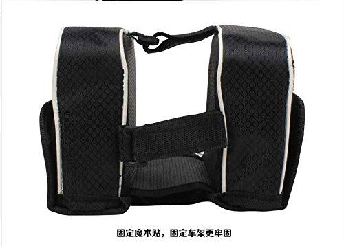 FAN4ZAME Vorderer Träger Fahrrad Mountainbike Neue Hard Shell Strahl Fahrrad Sattel Tasche Top Tube Reiten Ausrüstung