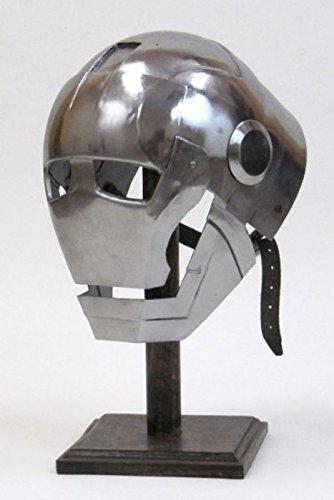 Nauticalmart Iron Man Helmet Replica Combat Chin (Ironman Costumes Replica)