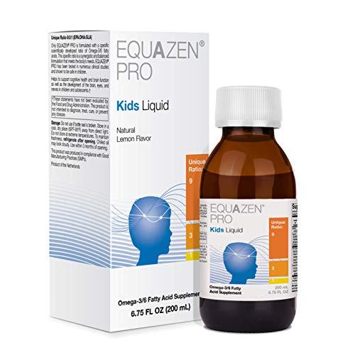 - Fish Oil for Kids - EQUAZEN PRO Kids Liquid Omega 3 6 Fish Oil with EPA/DHA (6.75 Fluid Ounces)