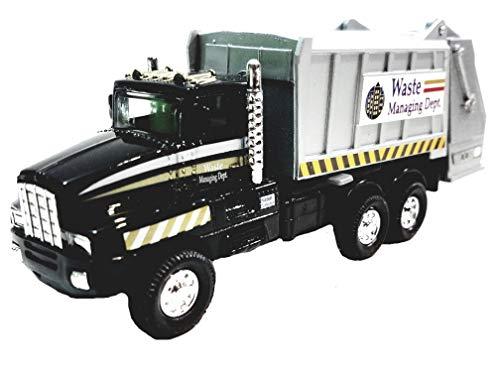 Black Garbage Truck Recycle/Waste Management Dept 6