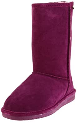 "BEARPAW Women's Emma 10"" Shearling Boot,7 B(M) US,Boysenberry"
