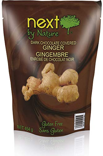 Next by Nature Dark Chocolate Ginger, 16 oz Bag (Pack of 3)