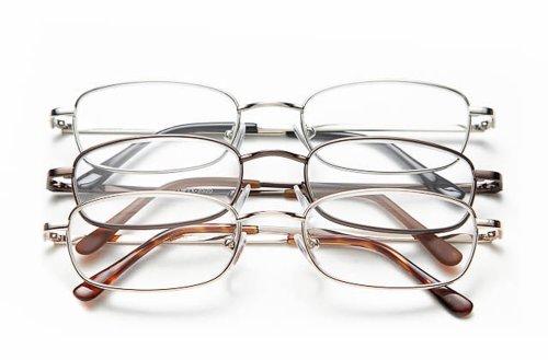 Optx 20/20 Staple Reading Glasses, + 200, (Pack of 3)