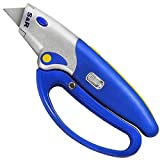 S&R Automatic Carpet Knife 175mm, 5 blades SK5, Folded knife, hand protection. Blade replacement by pushing a button