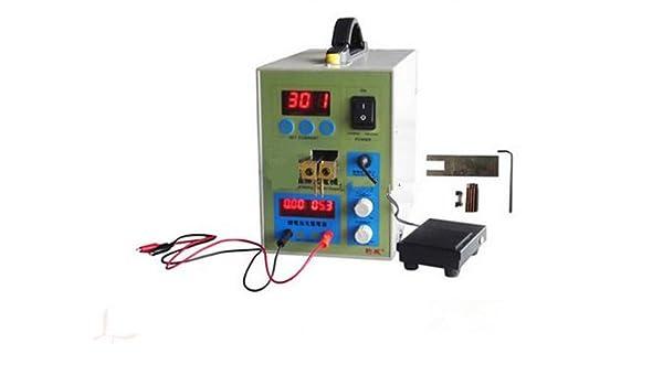 GOWE funda para teléfono portátil recargable Asamblea Micro pulso Mash soldador equipo MCU punto Spot soldador máquina 180 V ~ 240 V: Amazon.es: Bricolaje y ...