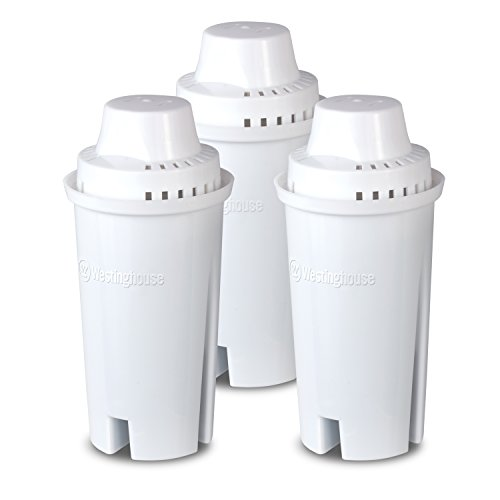 Westinghouse Brita Compatible Replacement Water Filter for Pitchers 3 Pack