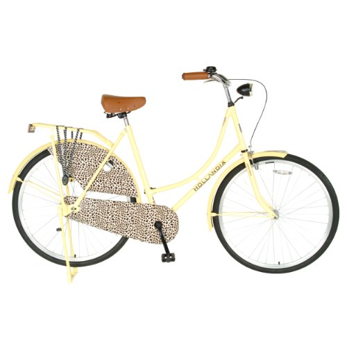 Hollandia City Leopard Dutch Cruiser Bike with Chain Guard a
