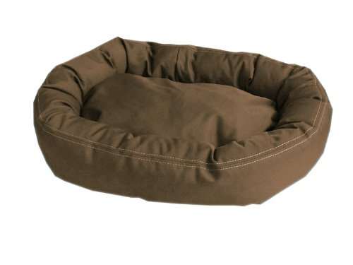 CPC Brutus Tuff Comfy Cup Pet Bed, 36-Inch, Olive