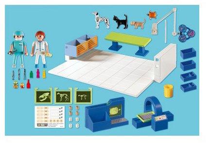 Playmobil 4346 Vet Operating Room Amazon Toys Games