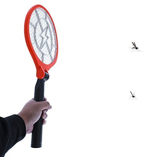 Koramzi F-9 Electric Mosquito Swatter, Bug Zapper,Mosquito Racket for Indoor and Outdoor Insect Control