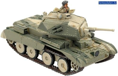 - Flames Of War British A13 Cruiser Mkiva (desert) (1 Vehicle, Early War) by Battlefront Miniatures