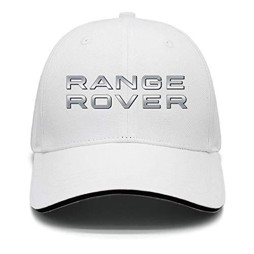 Men/Womens Range-Rover-Logo- Rock Punk Flat-Along Adjustable Classic Snapback Hats