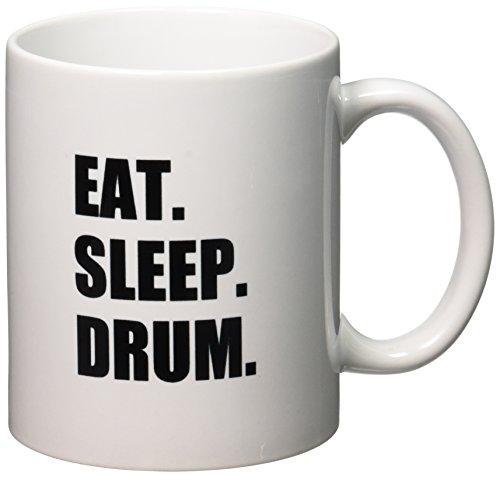 3dRose mug 180399 1 Drumming Percussionist 11 Ounce