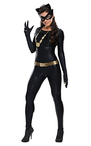 Rubie's Costume Grand Heritage Catwoman Classic TV Batman Circa 1966, Black, Small (Rubies Classic Batman Costume)