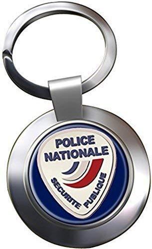 POLICÍA NACIONAL CROMADO LLAVERO: Amazon.es: Ropa y accesorios