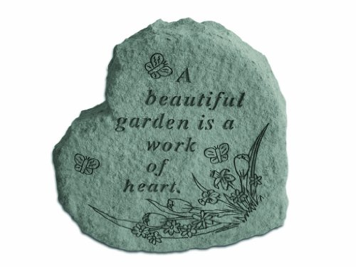 A Work of Heart Garden Stone For Sale