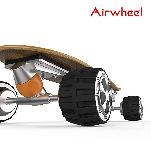 Airwheel M3 Electric Skateboard Longboard 36V 4.4AH 162.8Wh?Controlled by Handhold Wireless Remote and Support Bluetooth Connection to Smart Phone APP for Adult and Teenagers
