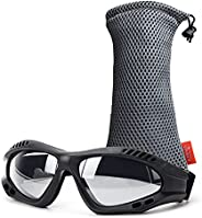 Viriber Motorcycle Goggles UV Protective Outdoor Glasses Dust-Proof Protective Combat Goggles