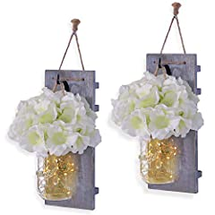 Wall lamps & decor lanterns are our specialty. As a brand that caters to DIY decorators & professional designers, HABOM brings thefinest furnishings to buyers across the globe. Highlighted by rustic qualities, our mason jar sconce wal...