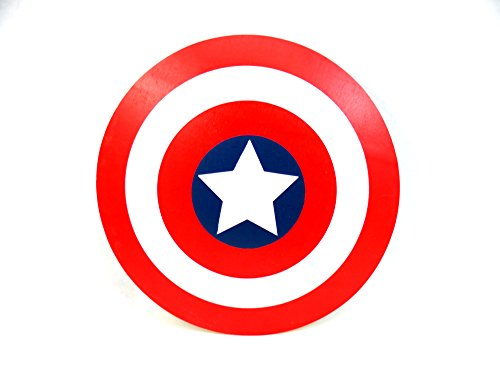 Wooden Toy Captain America Shield. -