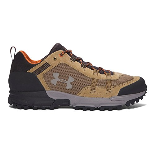 Under Armour Men's Post Canyon Low, Saddle (257)/Cannon, (Suede Mens Saddle)