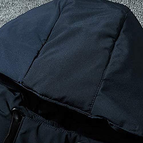 Giacche colore Uomo In M Dimensioni 66 Cappuccio Per Blu Srl Con Red Cappotto Cotone zxtAwIqIE