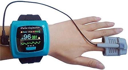 NO BRAND Oxímetros de la batería incorporada de Tipo BF DC 3.6 Pulso del Dedo V oxímetros de Pulso Digital Reloj de Alarma Contec Diente